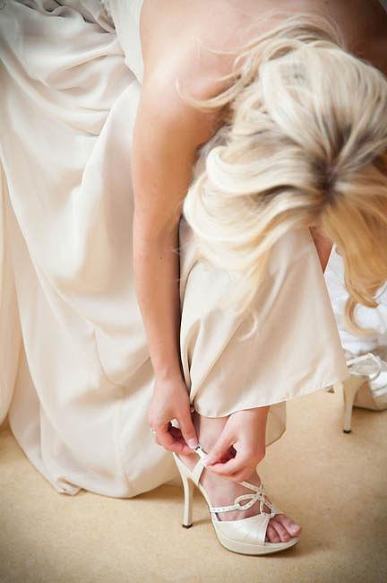Bath Wedding Photographer Bride and Shoes