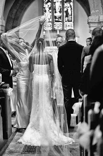 Bath Wedding Photographer Bride in Aisle